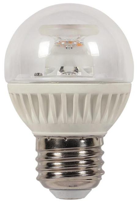 Westinghouse 3321400 7 Watt (Replaces 60 Watt) Globe G16-1/2 Dimmable LED Light Bulb, ENERGY STAR