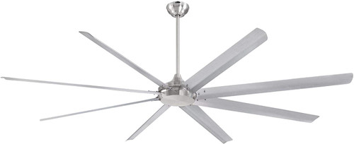 Westinghouse 7224900 Widespan 100-Inch Indoor Ceiling Fan, DC MotorBrushed Nickel Finish with Aluminum Blades, Remote Control Included
