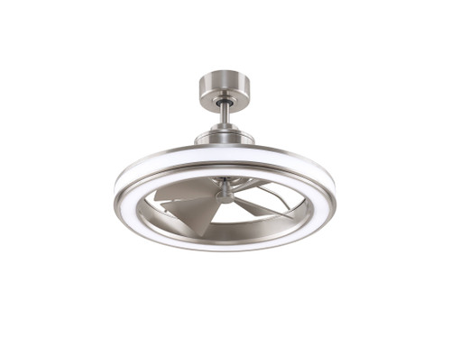 Fanimation FP8404BN Gleam - 16 inch - Brushed Nickel with LED Light Kit At CLW Lighting!