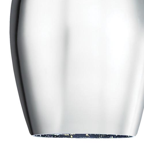 ELK Lighting 10506/1 Illusions 1-Light Mini Pendant in Satin Nickel with Fireworks Glass
