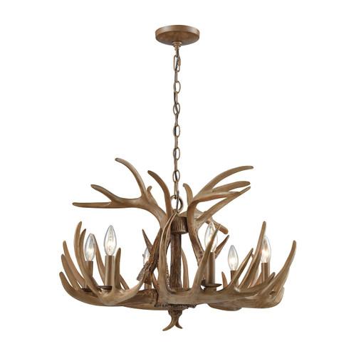 ELK Lighting 16315/6 Elk 6-Light Chandelier in Wood Brown