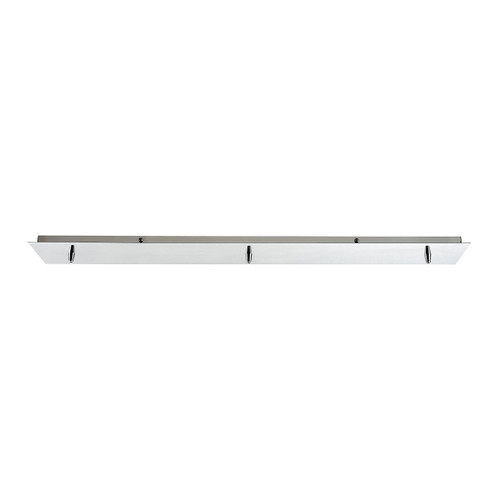 ELK Lighting 3LP-CHR Pendant Options 3 Light Linear Pan in Polished Chrome