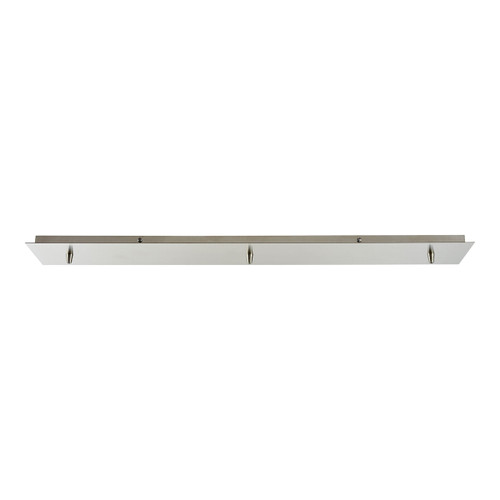 ELK Lighting 3LP-SN Pendant Options 3 Light Linear Pan in Satin Nickel