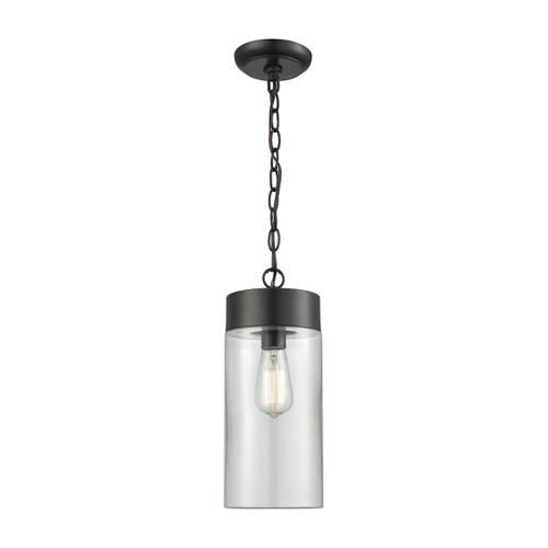ELK Lighting 45027/1 Ambler 1-Light Outdoor Pendant in Oil Rubbed Bronze