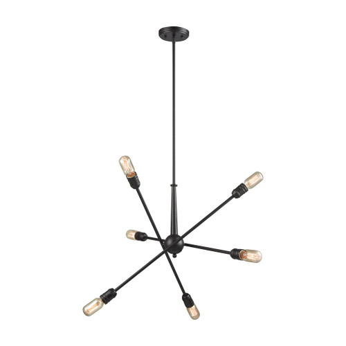 ELK Lighting 46227/6 Delphine 6-Light Chandelier in Oil Rubbed Bronze