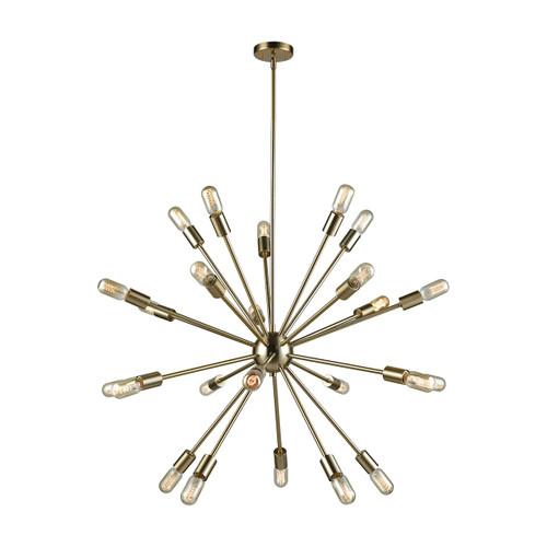 ELK Lighting 46245/24 Delphine 24-Light Chandelier in Satin Brass