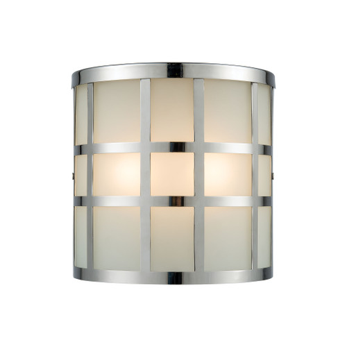 ELK Lighting 46292/2 Hooper 2-Light Outdoor Sconce in Polished Stainless