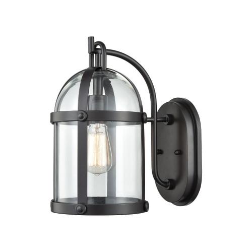 ELK Lighting 47510/1 Hunley 1-Light Outdoor Wall Lamp in Oil Rubbed Bronze