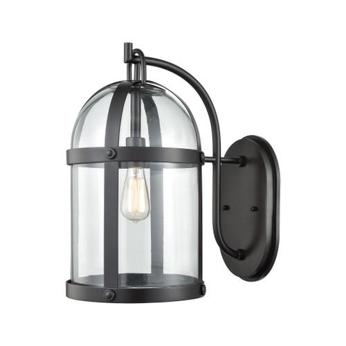 ELK Lighting 47511/1 Hunley 1-Light Outdoor Wall Lamp in Oil Rubbed Bronze