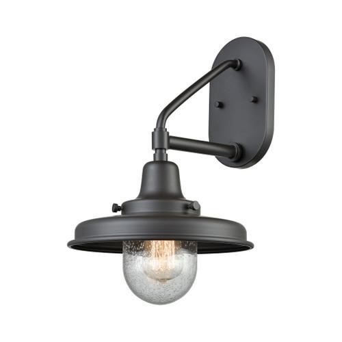 ELK Lighting 57152/1 Vinton Station 1-Light Outdoor Wall Lamp in Oil Rubbed Bronze