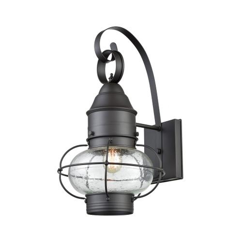 ELK Lighting 57181/1 Onion 1-Light Outdoor Wall Lamp in Oil Rubbed Bronze