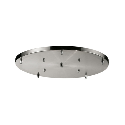 ELK Lighting 5R-SN Acc Satin Nickel Round Pan 5-Lights for Item 20160/20