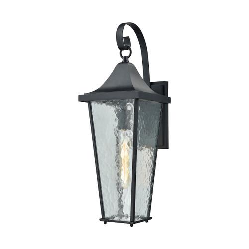 ELK Lighting 87060/1 Vinton 1-Light Outdoor Wall Lamp in Matte Black