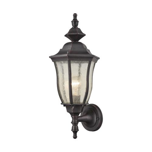 ELK Lighting 87080/1 Bennet 1-Light Outdoor Wall Lamp in Graphite Black