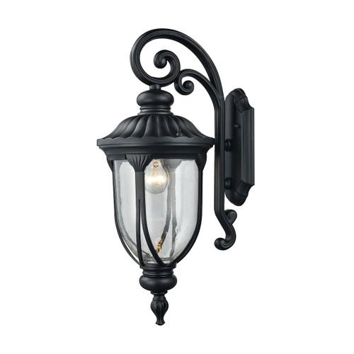 ELK Lighting 87101/1 Derry Hill 1-Light Outdoor Wall Lamp in Matte Black