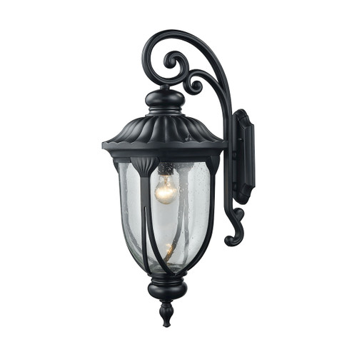 ELK Lighting 87102/1 Derry Hill 1-Light Outdoor Wall Lamp in Matte Black