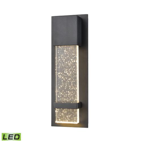 ELK Lighting 87110/LED Emode Sconce in Matte Black with Seeded Crystal - Integrated LED