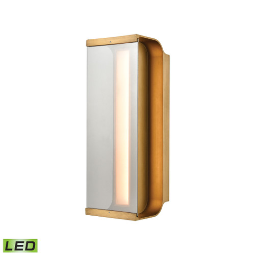 ELK Lighting 88130/LED Forma Sconce in Antique Bronze with Clear Glass - Integrated LED