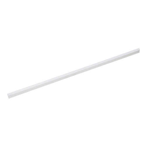 ELK Lighting ZS610RSF ZeeStick 1-Light Utility Light in White with Frosted White Polycarbonate Diffuser - Integrated LED