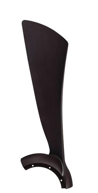 Fanimation BPW8530-44DWA Wrap Blade Set of Three - 44 inch - Dark Walnut At CLW Lighting!