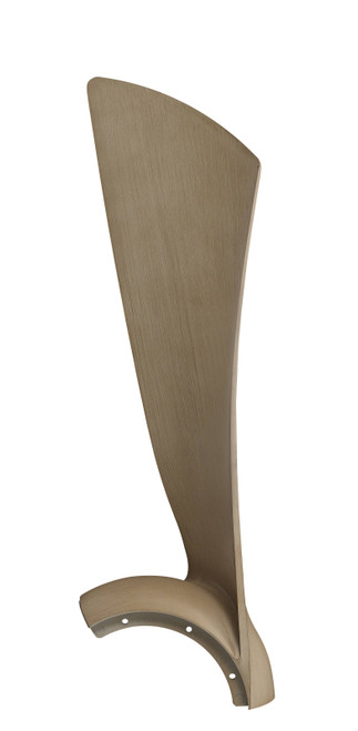 Fanimation BPW8530-44N Wrap Blade Set of Three - 44 inch - Natural At CLW Lighting!
