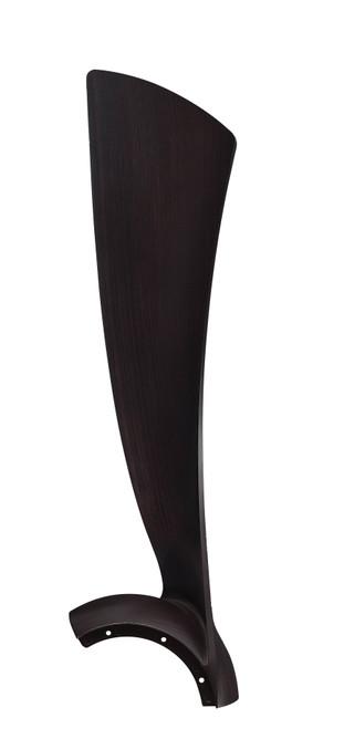 Fanimation BPW8530-52DWA Wrap Blade Set of Three - 52 inch - Dark Walnut At CLW Lighting!