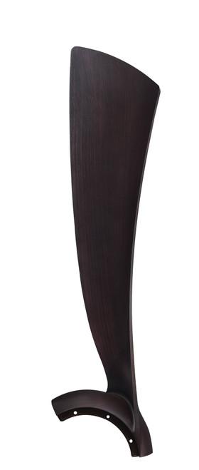 Fanimation BPW8530-56DWA Wrap Blade Set of Three - 56 inch - Dark Walnut At CLW Lighting!