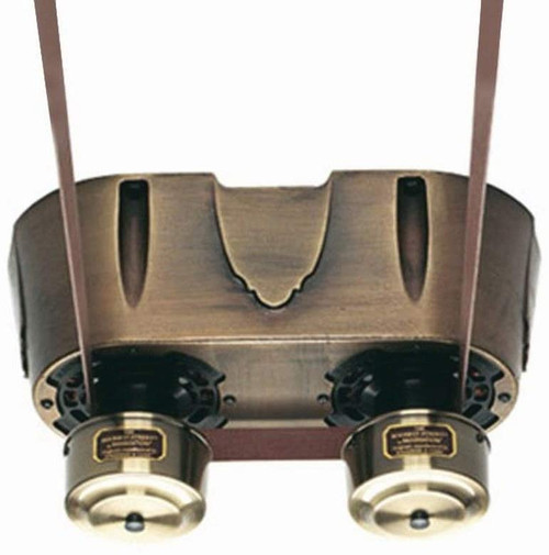 Fanimation FP580AB-220 Bourbon Street Motor Only - Antique Brass - 220v. 40' long neoprene belt included . Compatible only with 220 volt electricity