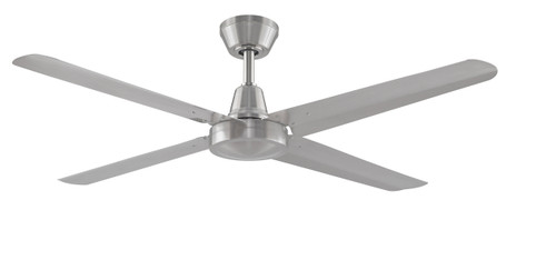 Fanimation FP6717BN-220 Ascension - 56 inch - Brushed Nickel with Brushed Nickel Blades - 220V At CLW Lighting!
