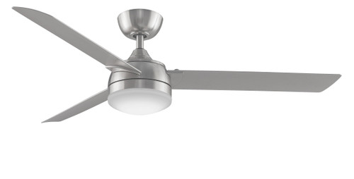 Fanimation FP6728BBN Xeno Damp- 56 inch - Brushed Nickel with Brushed Nickel Blades and LED At CLW Lighting!
