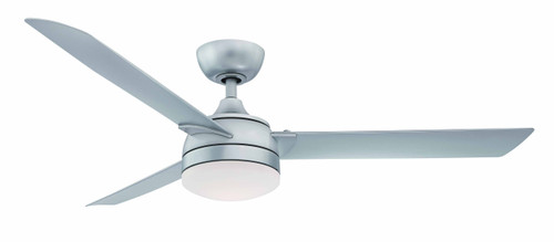 Fanimation FP6729BSLW Xeno Wet - 56 inch - Silver with Silver Blades and LED At CLW Lighting!