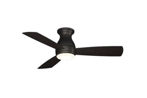 Fanimation FPS8332DZW-220 Hugh - 44 inch - Dark Bronze with Dark Bronze Blades and LED Light Kit - Wet Rated - 220V At CLW Lighting!