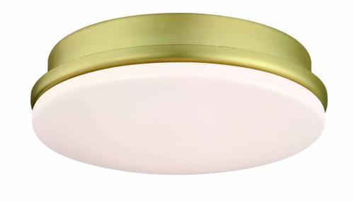 Fanimation LK8534BS Kute LED Light Kit - Brushed Satin Brass At CLW Lighting!