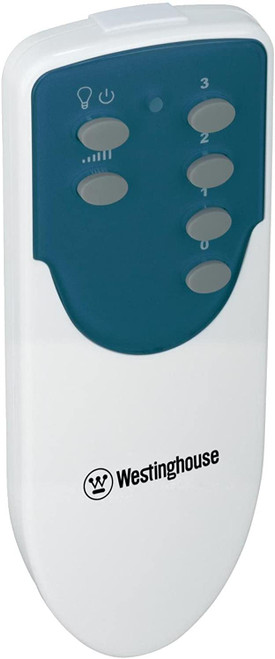 Westinghouse 7787800 Ceiling Fan and Light Remote Control, Damp Location Three fan speeds and light dimmer