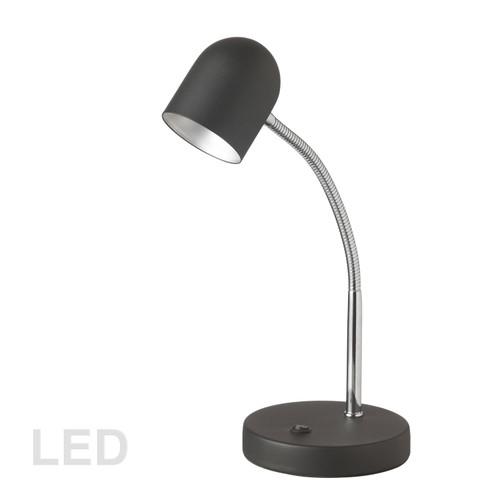 Dainolite Lighting  134LEDT-BK 5 Watt LED Table Lamp, Satin Black Finish