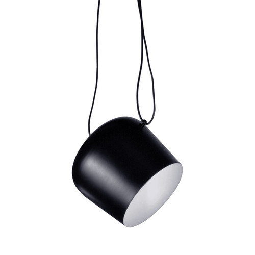 Dainolite Lighting  1605P-BK 1 Light Adjustable Pendant, Black