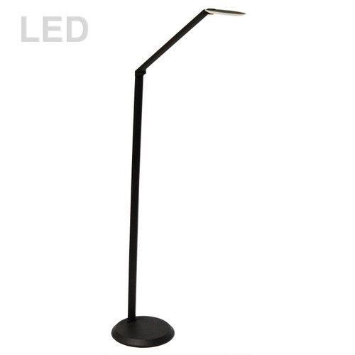 Dainolite Lighting  181LEDF-SB 10W LED Floor Lamp Satin Black Finish