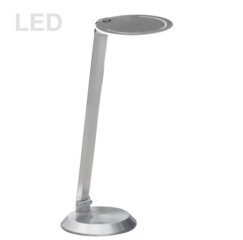 Dainolite Lighting  181LEDT-SN 10W LED Table Lamp Satin Nickel Finish