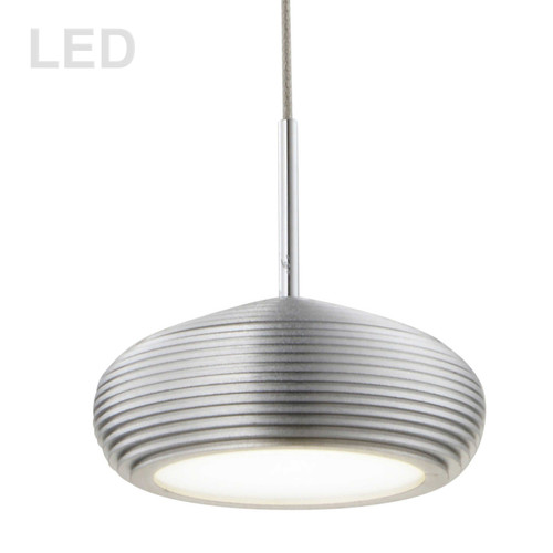 Dainolite Lighting  281LED-1P-AL 5W LED Pendant Aluminum Finish