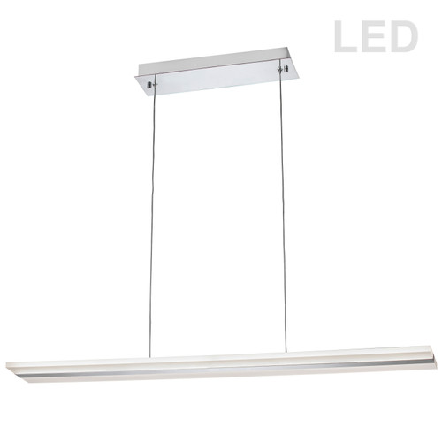 Dainolite Lighting  301-LEDHP36-PC 24W LED Pendant, Polished Chrome Finish