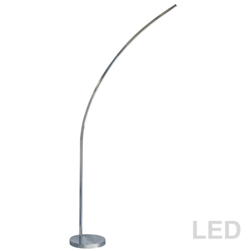 Dainolite Lighting  412LEDF-PC 22W LED Floor Lamp Polished Chrome Finish