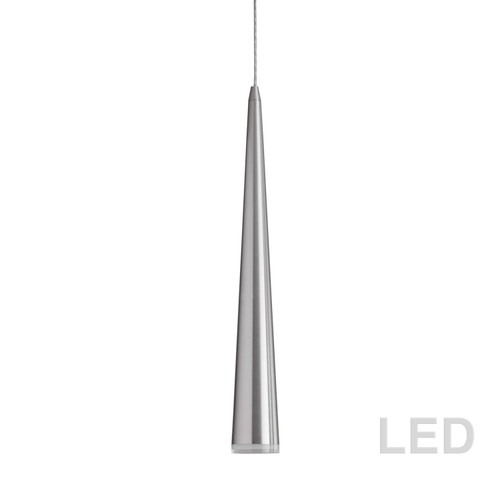 Dainolite Lighting  418LED-241P-SC 5W LED Pendant, Satin Chrome Finish