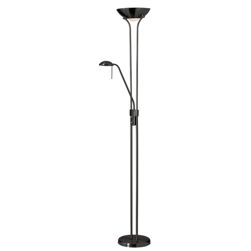 Dainolite Lighting  505F-MB Mother/Son Floor Lamp, Matte Black