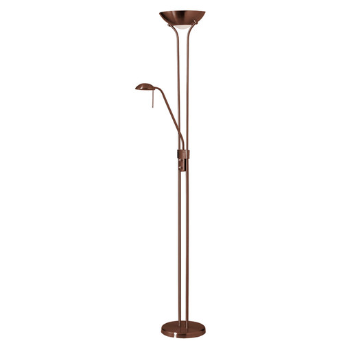 Dainolite Lighting  505F-OBB Mother/Son Floor Lamp, Oil Brushed Bronze