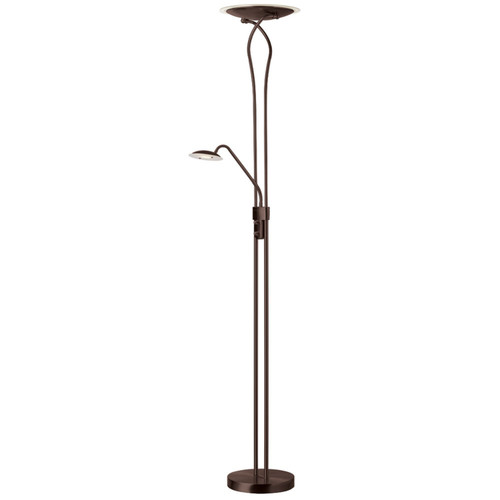 Dainolite Lighting  513LEDF-OBB LED Mother And Son Floor Lamp, Oil Brushed Bronze Finish