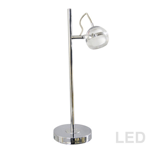 Dainolite Lighting  721LEDT-PC 5W LED Table Lamp, Polished Chrome Finish