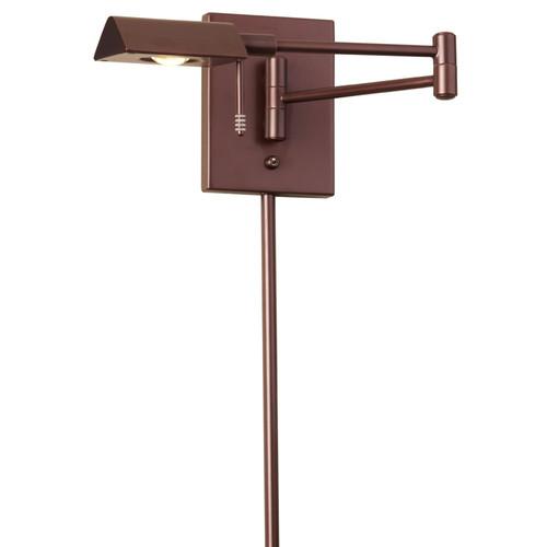 Dainolite Lighting  902WLED-OBB LED Swing Arm Wall Lamp, Oil Brushed Bronze