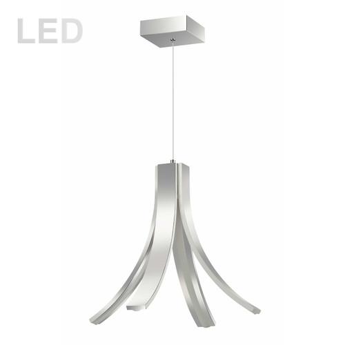 Dainolite Lighting  ALN-174P-PC 28W LED Pendant Polished Chrome Finish