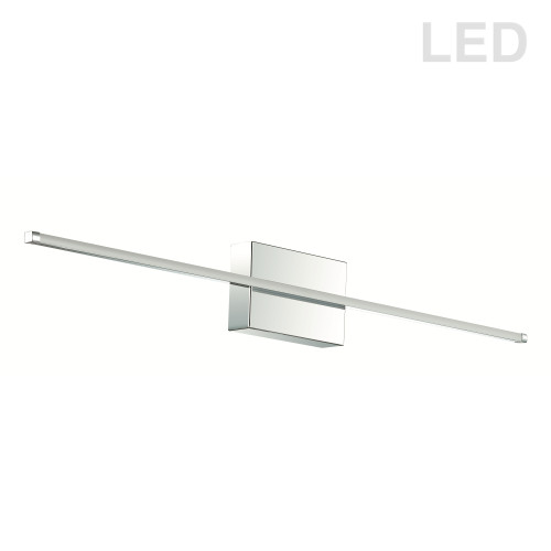 Dainolite Lighting  ARY-3730LEDW-PC 30 Watt LED Wall Sconce Polished Chrome w/White Acrylic Diffuser