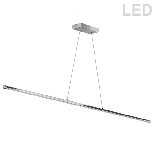 Dainolite Lighting  ARY-4830LEDHP-PC 30W LED Horizontal Pendant, Polished Chrome with White Acrylic Diffuser